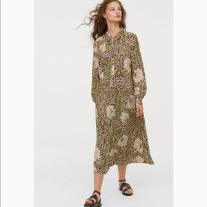 H&M William Morris & co dress